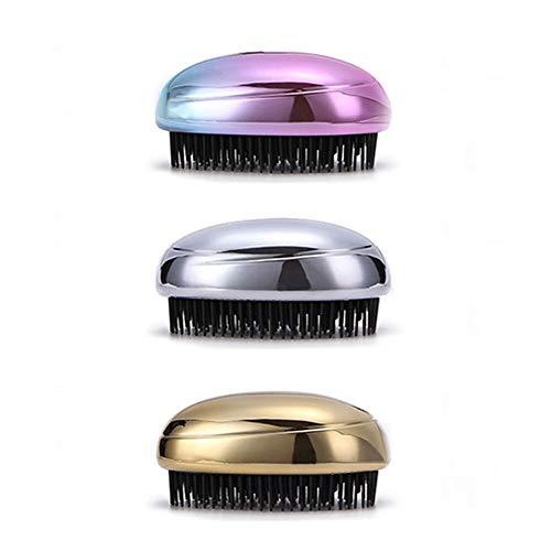 YALTOL Double Face Poignée Grande Dent Emmêlé Peigne Cheveux Bouclés Dos De Style Salon De Coiffure Hommes Peigne Huile Barbe Peigne À Dents Larges,Beige