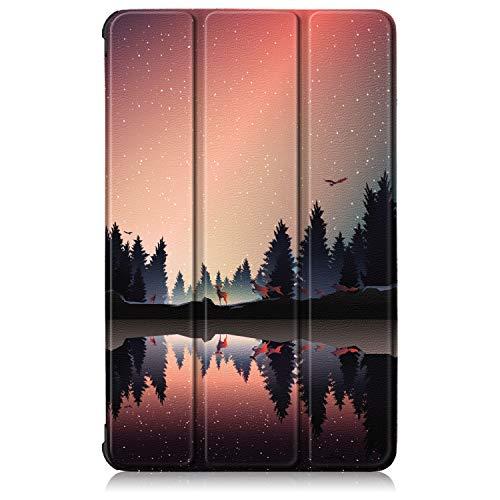 VOVIPO Huawei Mediapad T5 10 Pulgadas Tablet Stand Case Funda Ultra Slim Ligero Smart Cover para Huawei Mediapad T5 10