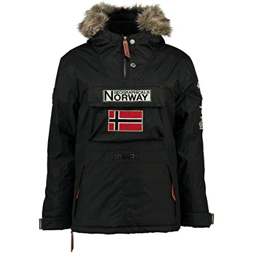 Geographical Norway Parka Hombre Boomerang Negro S