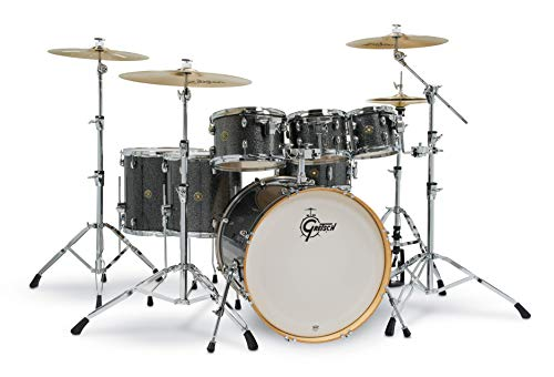 Gretsch Drums Drum Set, Black Stardust (CM1-E826P-BS)
