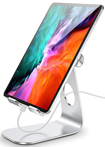 Cocoda Tablet Stand, Phone Holder for Desk, Adjustable iPad Stand Compatible with iPad Pro 12.9 11 10.5 9.7, iPad Air 3 2 1, iPad Mini 5 4 3 2, Samsung Galaxy Tabs, 4 to 13""