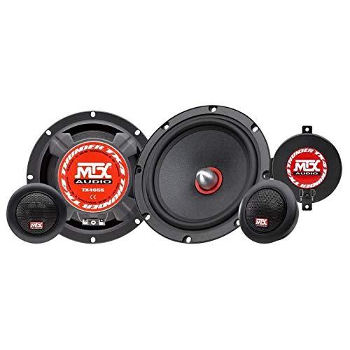 MTX TX465S 2-Wege-Lautsprecher-Set, 16,5 cm, 80 W