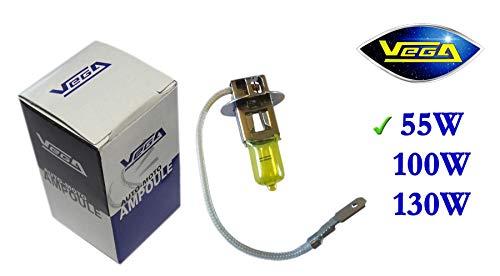1 ampoule Vega® Jaune ancien H3 55W PK22s Marque Française 12V