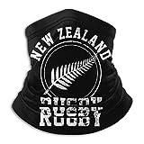 fenrris65 Cagoule multifonction de l'équipe de rugby de Nouvelle-Zélande, cache-cou, cache-cou, cache-cou, cache-cou, cache-poussière