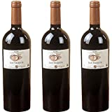 San Vicente Vino tinto 2015 - 3 botellas x 750ml - 2250 ml