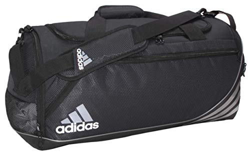 adidas Unisex Team Speed Large Duffel, Black, ONE SIZE