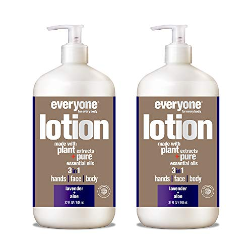 Everyone Lotion: Lavender and Aloe, 32 Ounce, 2 Count
