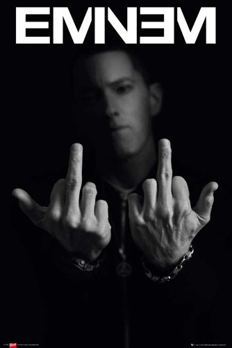 Eminem - Fingers - Marshall Mathers LP2 Musikposter Foto Rap Hiphop - Grösse 61x91,5 cm