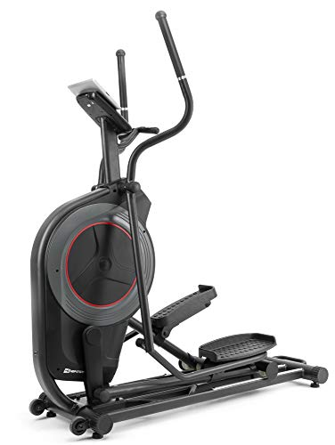 HS Hop-Sport Elliptical Crosstrainer HS-100C Galaxy Ellipsentrainer elektronische Widerstandseinstellung + iConsole Applikation Smartphone-Steuerung inkl. Unterlegmatte