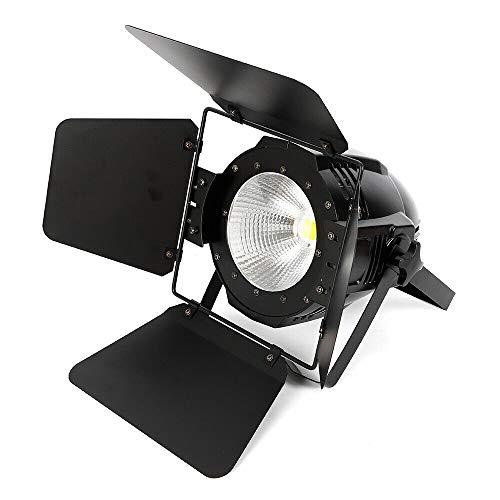BTdahong COB LED Weiß Warmweiß 2in1 Par Bühnenbeleuchtung DMX Sound Par Licht + Panel 200W