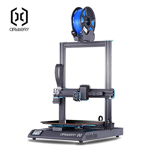 Artillery Sidewinder X1 3D Printer 2019 Newest 95% Pre-Assembled 300x300x400 Model with Dual Z Axis Ultra-Quiet Printing 0.4mm Direct Drive Extruder Filament Runout Detection and Recovery