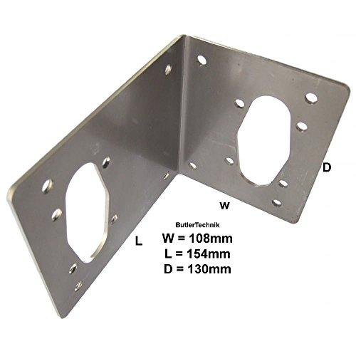 Webasto or Eberspacher Espar marine heater mount plate | 41C0016 | 251482890011