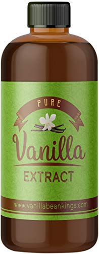 Pure Vanilla Extract for Baking and Cooking - Gourmet Madagascar Bourbon Blend made with Real Vanilla Beans, 2 Ounces (Double Fold)