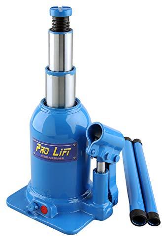 Pro-Lift-Werkzeuge Teleskopzylinder 5t Wagenheber 2-stufig 160mm- 408mm Top-Qualität Stempelheber Schwerlastzylinder