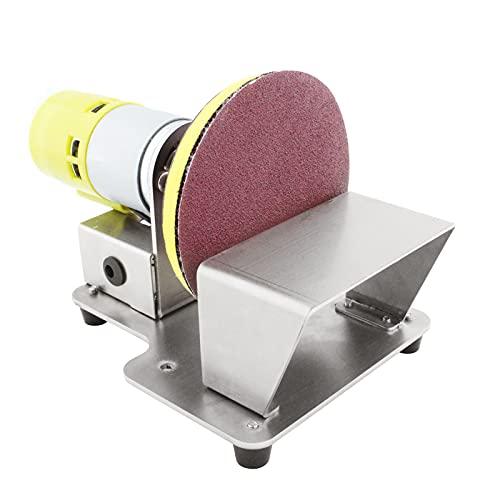Keifen Lijadora de disco de mesa pulidora giratoria eléctrica con 7 discos de lijado de velocd variable de 20 piezas de 3 pulgadas para pulir el acabado de y plástico