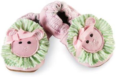 Mud Pie Baby-Girls Newborn Pink Lion Shoe Socks