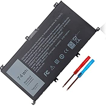 357F9 Laptop Battery Compatible with Dell Inspiron 15 7000 Series 7559 7557 5576 5577 7566 7567 7759 INS15PD-1548B 1548R 1748B 1848B 2548B 2748B 3948B Gaming Series 11.1V 74WH