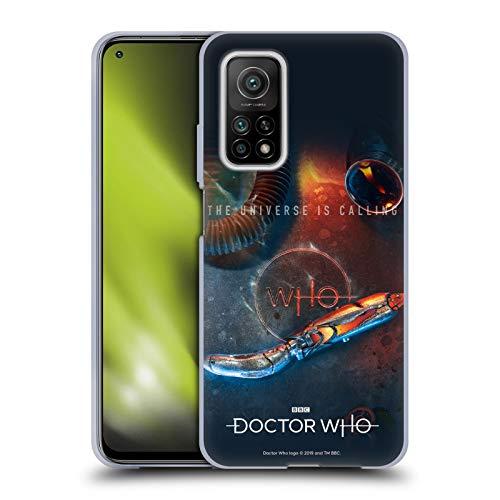 Head Case Designs Licenciado Oficialmente Doctor Who Destornillador sónico Temporada 11 Key Art Carcasa de Gel de Silicona Compatible con Xiaomi Mi 10T 5G