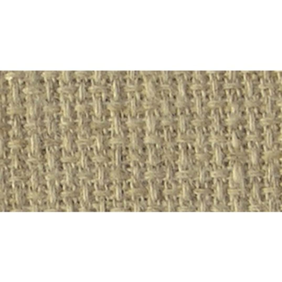 DMC LC0256-1410 Charles Craft Carolina Linen Aida Cloth, Sand, 14 Count