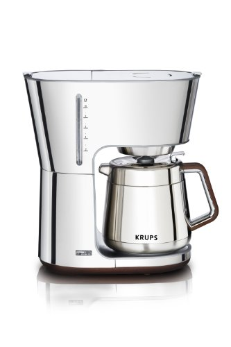 KRUPS  Silver Art Collection Thermal Carafe Coffee Maker
