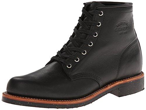 CHIPPEWA Boots - 6' ODESSA SERVICE BOOT 1901M24 - black, Größe:US Men 7.5 / EU 40.5