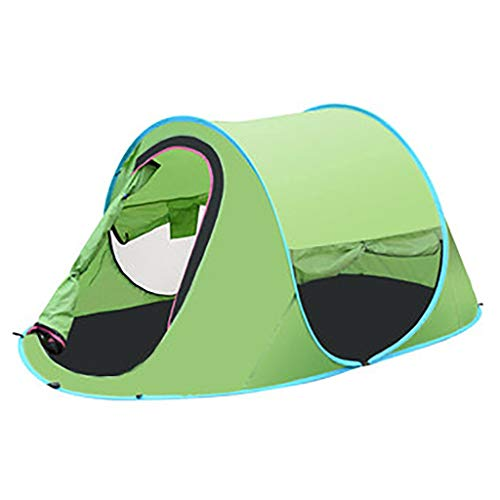Smsj-YJ Easy Pop-up strandtent, voor 2 personen, direct zonwering, overkapping