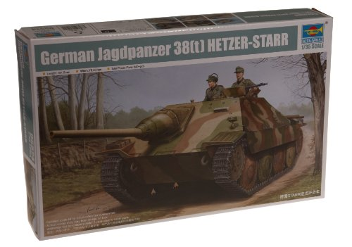 Trumpeter 05524 Modellbausatz German Jagdpanzer 38(t) STARR