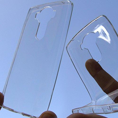 Funda de silicona fina protección transparente antigolpes carcasa para LG V10 H961N LTE