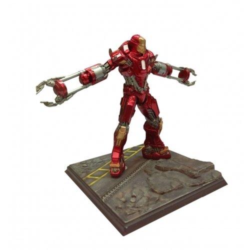 Dragon Action Heros Iron Man 3 Mark 35 Red Snapper pak voorgecomprimeerd model