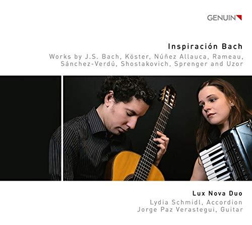 Inspiraciíon Bach - Werke für Akkordeon und Gitarre