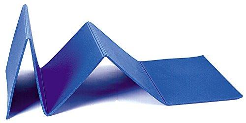 palema Tappetino Pieghevole Fitness 160 X 50 X 0.8 CM (Blu)