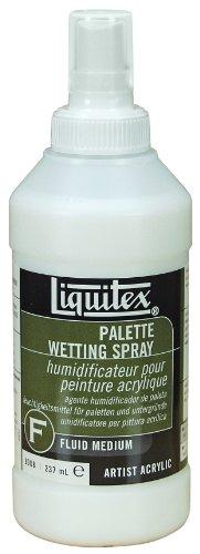 Liquitex Professional Palette Wetting Spray Fluid Medium, 8-oz (8008), 8 oz, Clear, 8 Fl