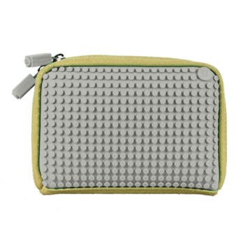 Upixel WY-B001-TW handtas van linnen, beige/grijs