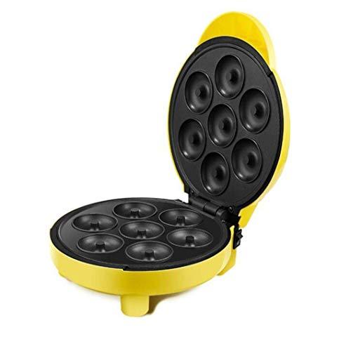 zyl Donut Maschine Home automatische elektrische Backform Kuchenmaschine 7 Donut Antihaftplatte abnehmbare Backform um Lebensmittel 1000W jederzeit und überall zu Machen