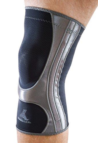 Mueller 5991-2 HG80 Kniegelenkschutz, schwarz, M