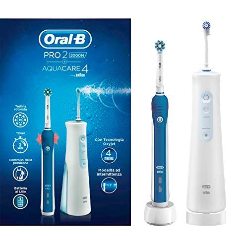 Oral-B Pro 2000 Oral Center, Spazzolino Oral B Pro 2000 e Idropulsore Aquacare 4