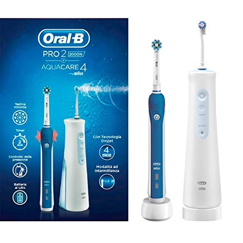 Oral-B Pro 2000 Oral Center, Oral B Pro 2000 Zahnbürste und Aquacare 4 Munddusche