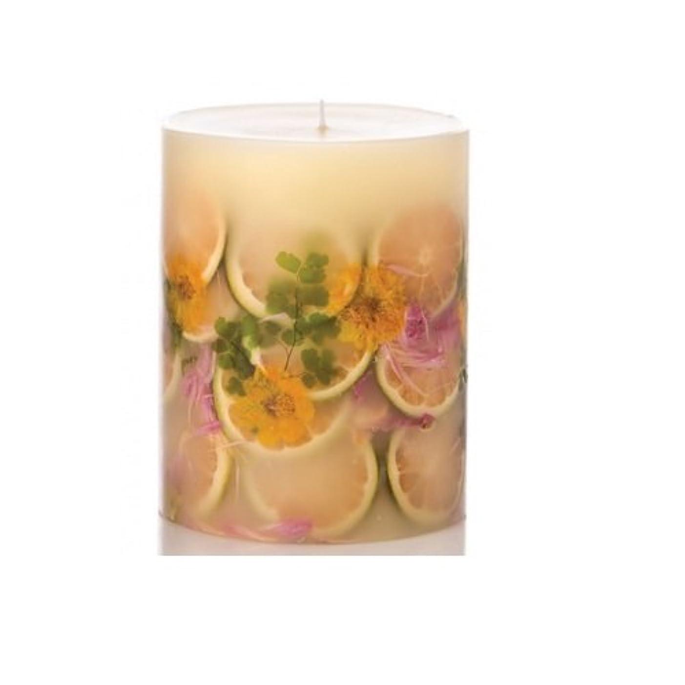 容量秘密のコーンウォールRosy Rings Lemon Blossom & Lycheeトールラウンド香りのキャンドル、5?