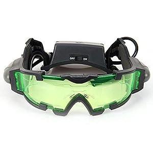Gearmax® Gafas de Visión Nocturna con Azul Flip-Fuera Llevaron Luces 5