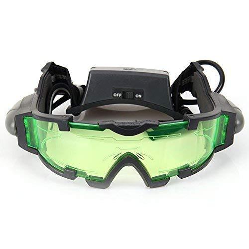 Gearmax® Nachtsichtgerät Nachtsichtbrille Nachtbeleuchtung LED Lampe Brille New Night Goggles