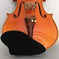 ACHICOO バイオリンチンレストパッド パッドショルダーパッド フィドルアクセサリー カバープロテクター 1/4 1/8 1/2 3/4 4/4 バイオリン用 4/4-3/4ブリッジタイプ
