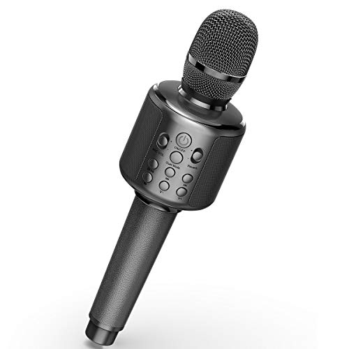 Lowest Price! Wireless Karaoke Microphone, BLAVOR Bluetooth Microphone With Dual Sing, Best Christma...