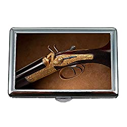 Cigarette case Holder,Gun Alarm Clock,Cigarette Holder Case,Latest Gun,Business Card Holder Business Card Case Stainless