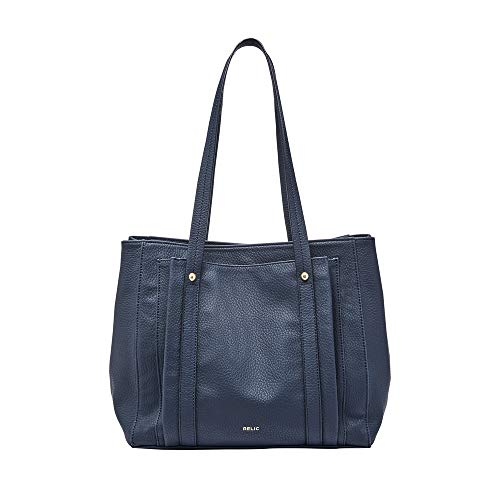 Relic by Fossil Women's Bailey Double Shoulder Handbag, Color: Midnight Model: (RLH2728462)