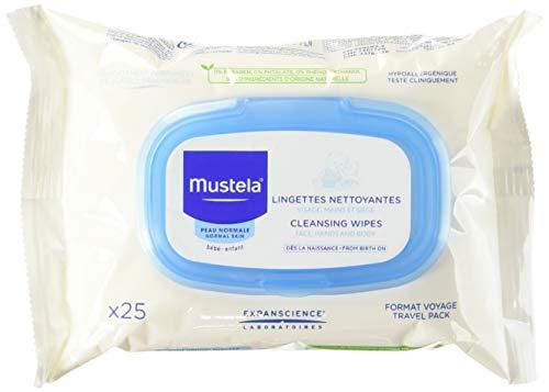 Mustela Pack van 25 doekjes voor gezicht, slangenwagen voor baby's