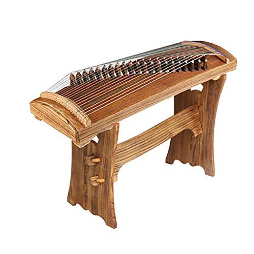 N /A Guzheng, Chinesisch Musikinstrument, 86cm Kleine Guzheng mit dem gleichen Ton als Professional Guzheng, 21 Streicher, Einleitende Praxis, mit einem kompletten Satz von Zubehör