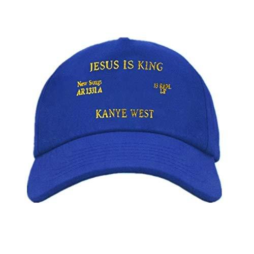 VGFTP® Kanye West Jesus Is King Álbum Gorras de béisbol, Bordado Papá Sombrero Unisex Mujeres Hombre Sombreros Último álbum Snapback