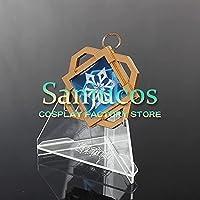 璃月 神の目 氷元素 原神 げんしん Genshin 7CM 飾り コスプレ道具【Sanjucos】