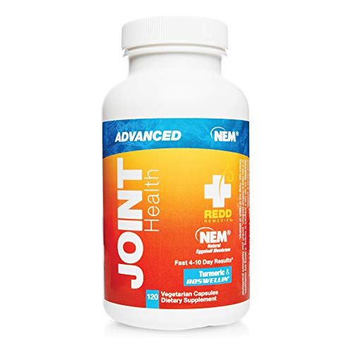 Redd Remedies, Joint Health Advanced, Fast-Acting Comfort with Collagen and Turmeric, 120 Capsules
