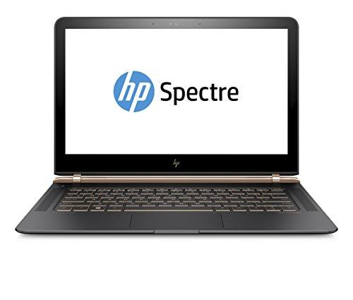 HP Spectre (13-v002ng) 33,8 cm (13,3 Zoll FHD IPS) Laptop (Intel Core i7-6500U, 8 GB RAM, 256 SSD, Intel HD-Grafikkarte 520, Integriert, Windows 10) schwarz/kupfer
